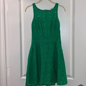 0 BB Dakota Sleeveless Midi Green Dress